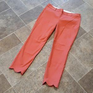 NWT J. Crew women's size 8 cropped dress pants